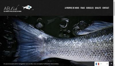 Site internet de Ab Fish