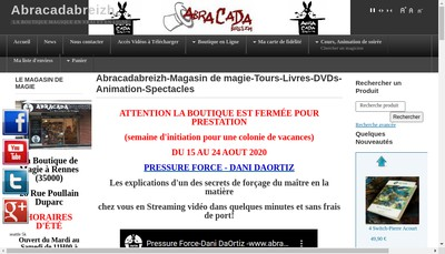 Site internet de Abracadabreizh