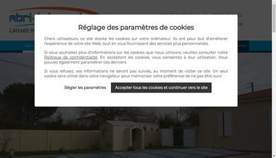 Site internet de Abri-Integral