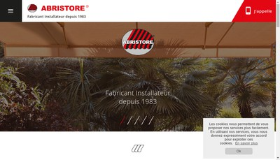 Site internet de Abristore