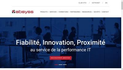 Site internet de Absyss