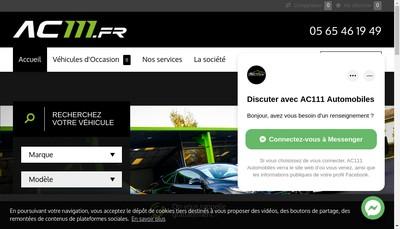 Site internet de Ac111
