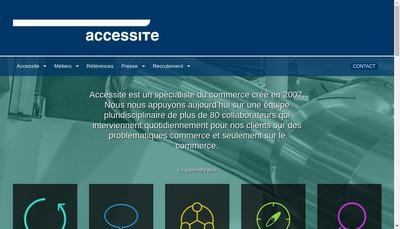 Site internet de Accessite