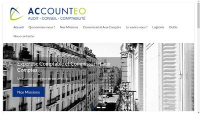 Site internet de Accounteo