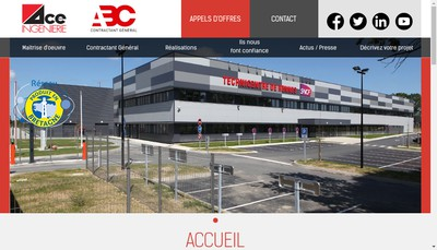 Site internet de Agence Concept Espace Ingenierie