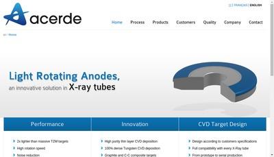Site internet de Acerde