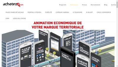 Site internet de Acheteza