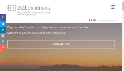 Site internet de Acl Partners