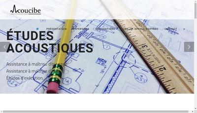 Site internet de Acoucibe
