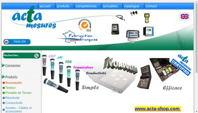 Site internet de SA Acta