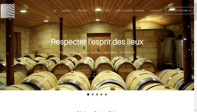 Site internet de Action Archi Arnaud Architectes Associes