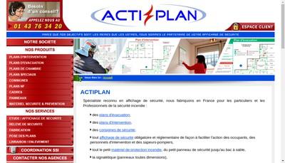 Site internet de Actiplan
