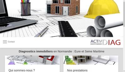 Site internet de Activdiag 76