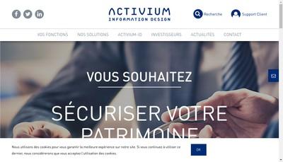 Site internet de Acsi