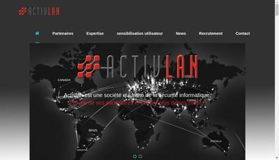 Site internet de Activlan
