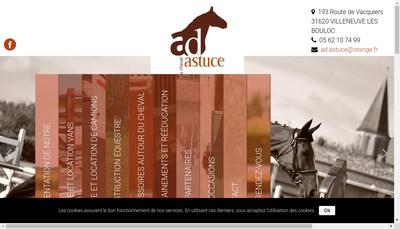 Site internet de AD Astuce
