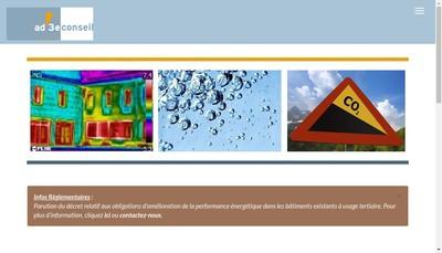 Site internet de Ad'3E