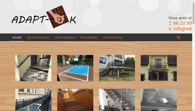 Site internet de Adapt-Ck