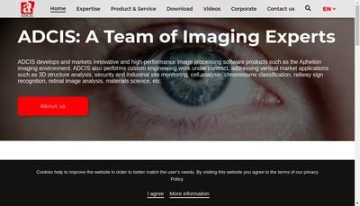 Site internet de Adcis