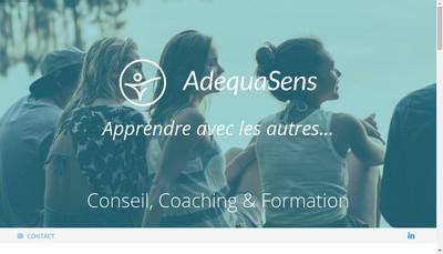 Site internet de Adequasens