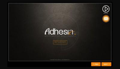 Site internet de Adhesia