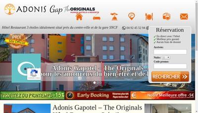 Site internet de Gapotel