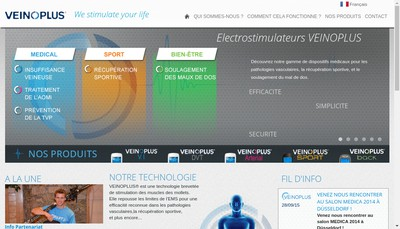 Site internet de Ad Rem Technology