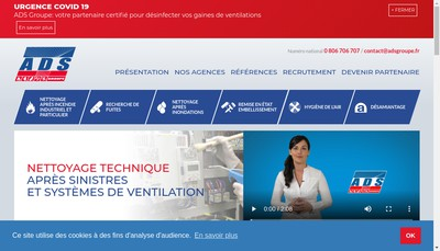 Site internet de Bms Technologies