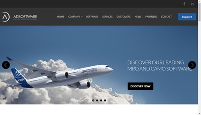 Site internet de Ad Software