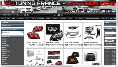 Site internet de adtuning.fr