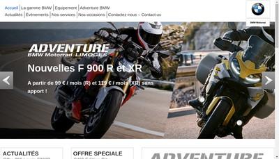 Site internet de Adventure