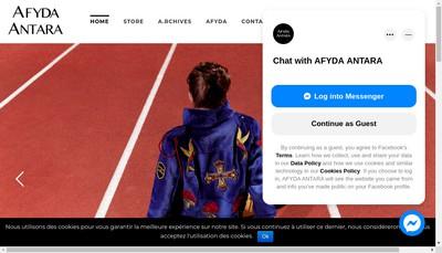 Site internet de Afyda Antara