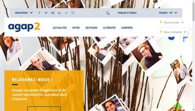 Site internet de Agap2