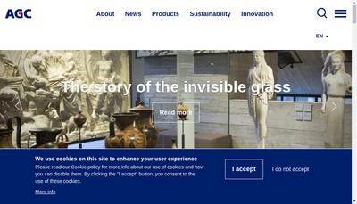 Site internet de AGC