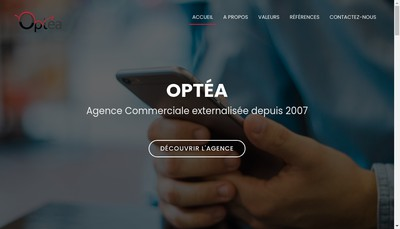 Site internet de Optea