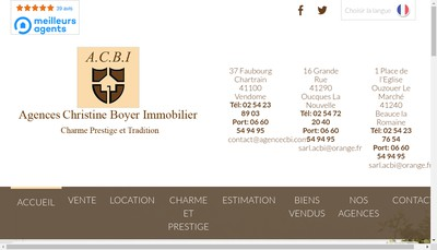 Site internet de Acbi