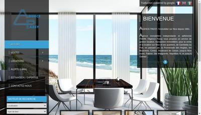 Site internet de Agence Passy