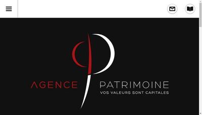 Site internet de Agence Patrimoine