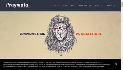 Site internet de Pragmata
