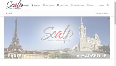 Site internet de Scalp Toovoo