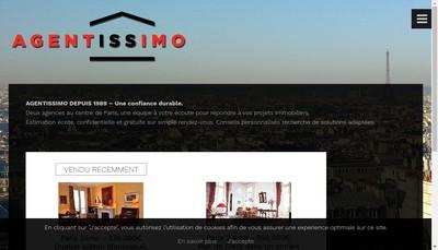 Site internet de Agentissimo