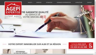 Site internet de Agepi Conseil Agepi Expertise Agepi Courtage Agepi Promotion Agepi Gestion
