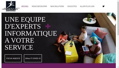 Site internet de Agesys