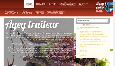 Site internet de Domaine le Pre du Chene