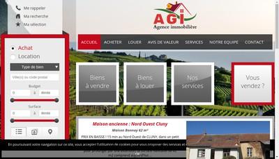 Site internet de Br Immobilier