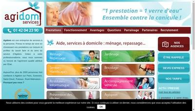 Site internet de Agidom