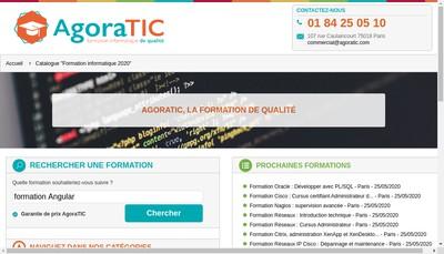 Site internet de Agoratic, Openska, It Formation, Kaptive