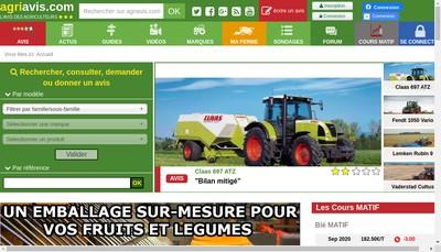 Site internet de Agriavis
