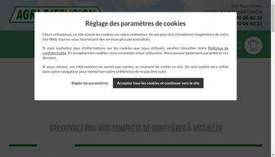 Site internet de Agri Diffusion