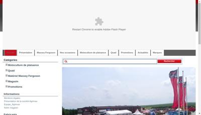 Site internet de Agrimax